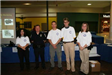 staff pose for a photo at Juvenile Justice Day