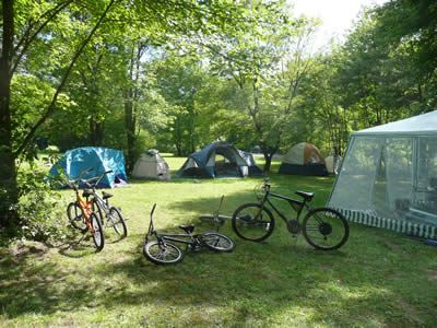 Example of a camp setup