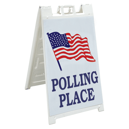 sign-polling-place